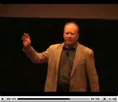 Quentin speaking at GOVIS 2007