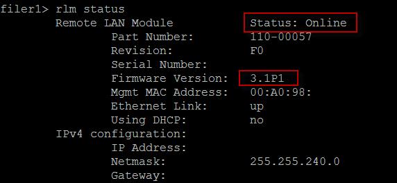screenshot - rlm status showing upgrade complete
